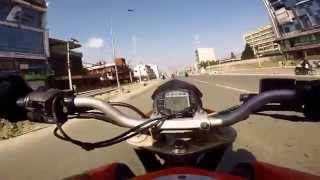 ktm duke 200 morning ride nepal