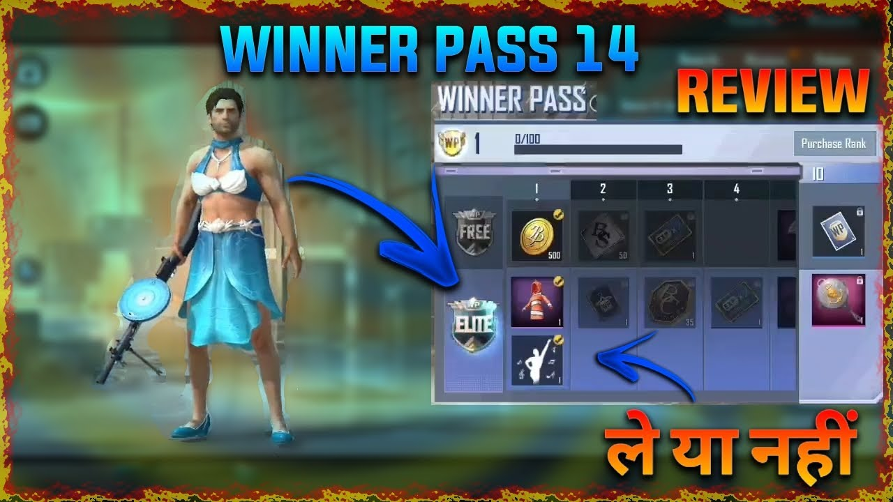 WINNER PASS 14 +100 WP POINT  MAXED OUT??