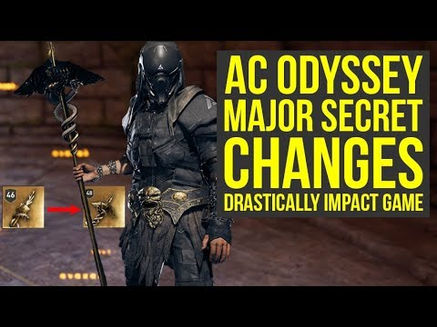 Assassin's Creed Odyssey Best Build To Utilize Recent Major Secret Changes (AC Odyssey Secrets) thumbnail