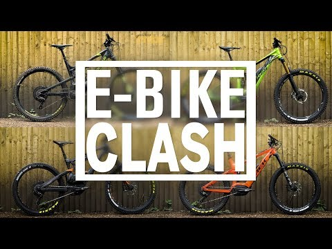 The Best E-Bike Clash | Rocky Mountain, Trek, Lapierre & Merida | MBR
