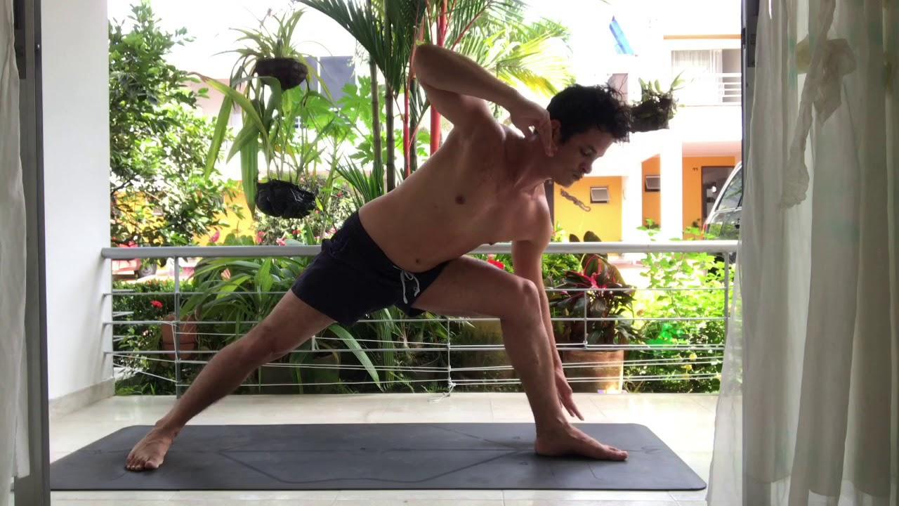 Hatha Yoga Flow Intermediate Level - YouTube