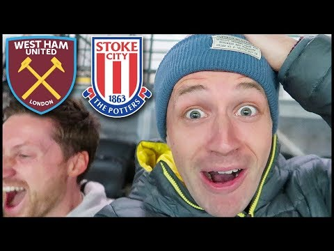 ANDY CARROLL FOR ENGLAND TEAM?! WEST HAM VS STOKE (Premier League 2017/18) #Ad