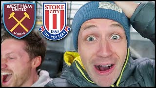 ANDY CARROLL FOR ENGLAND?! WEST HAM VS STOKE (Premier League 2017/18) #Ad