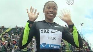 Allyson Felix wins 200m in Eugene  - from Universal Sports