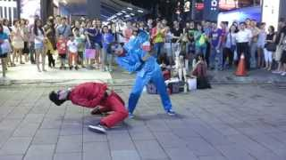 Street Party 小紅人 小水藍 SOLO 正面 20130713