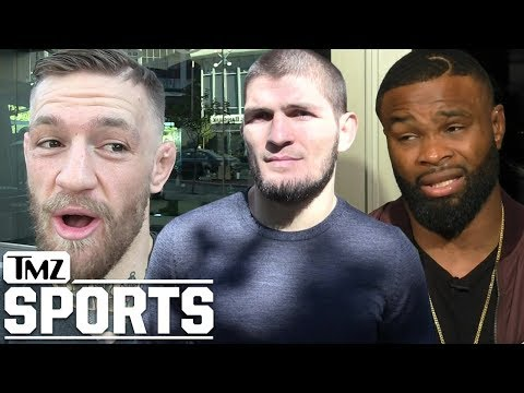 "Tyron Woodley Says Khabib Beats McGregor ""99 Times Out of 100"" | TMZ Sports"