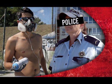 GRAFFITI WRITER vs POLICE