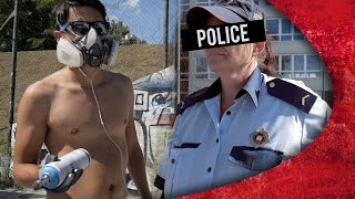 GRAFFITI WRITER vs POLICE