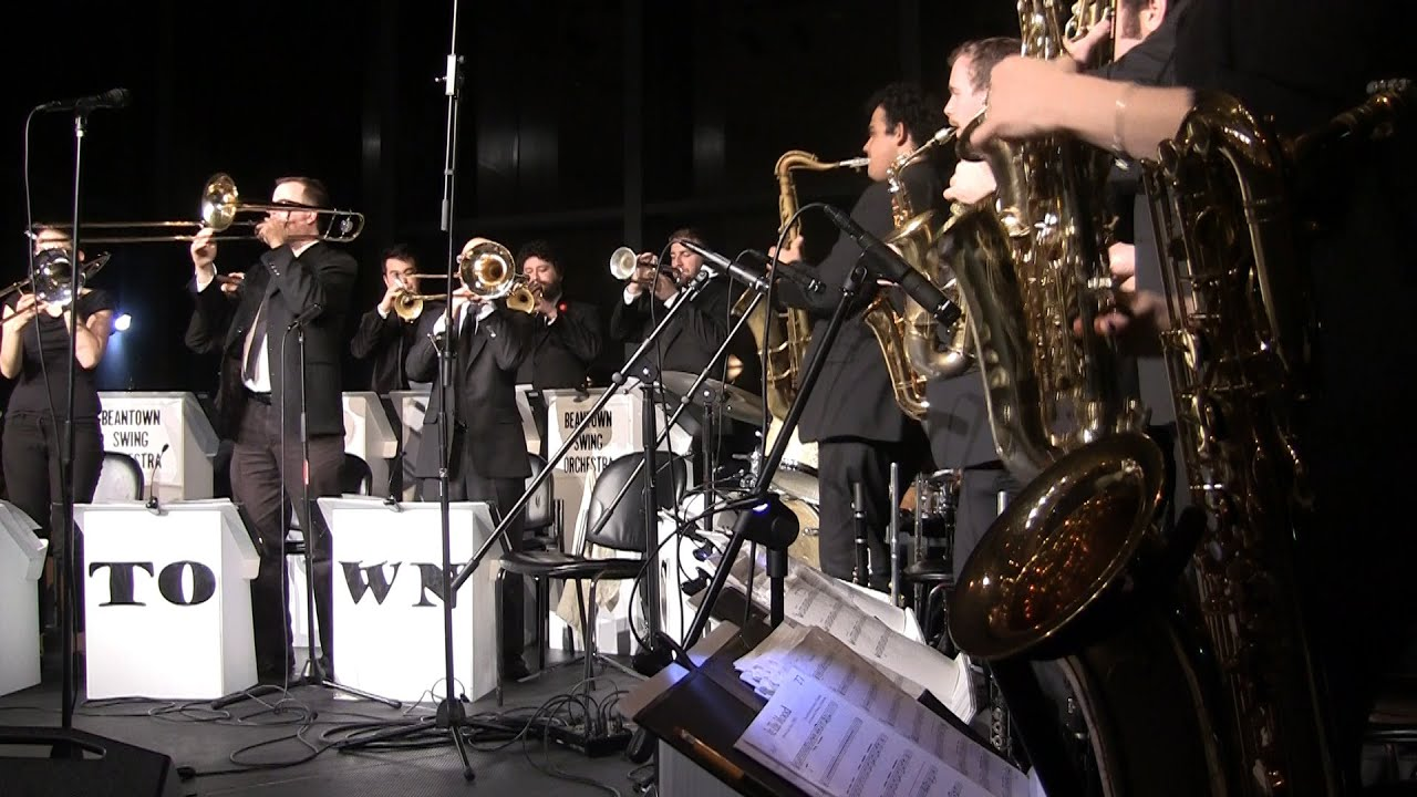 In The Mood Beantown Swing Orchestra 2016