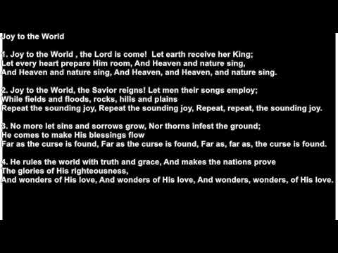 Joy to the World - CHORDS - YouTube