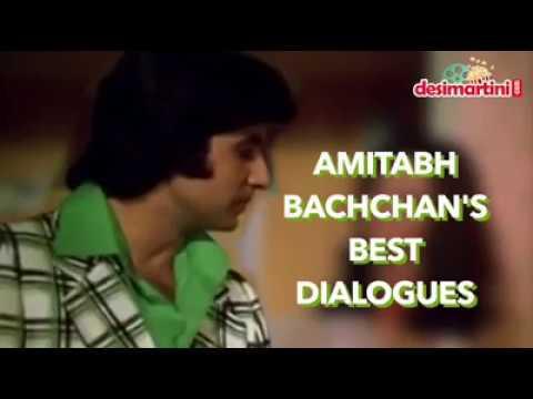Amitabh Bachchan dialogues   Best Amitabh Bachchan dialogues 2017