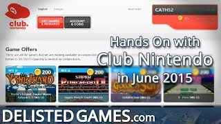 Club Nintendo - Online (Delisted Games Hands On)