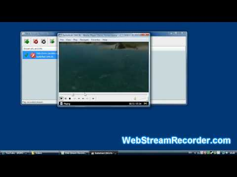 How to capture, record, download streaming videos with Web Stream Recorder
