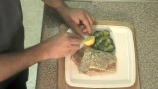 Spice Crusted Salmon With Garlic Dill Beurre Blanc - Indian Inspired Cuisine  Recipe Video