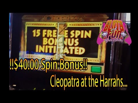 !!!HIGHLIMIT BONUS!!! $40 Cleopatra spins