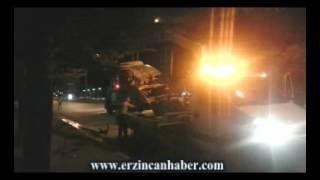 Erzincan Şehir Merkezinde Takla Atan Araçta 3 yaralı