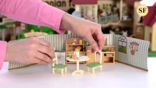 видео Кухня в коттедже   Sylvanian Families 2951
