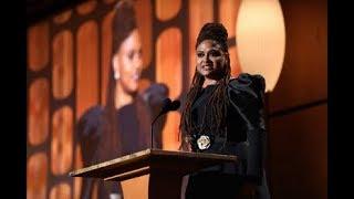 Ava DuVernay honors Charles Burnett at the 2017 Governors Awards