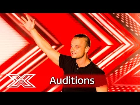 Beck Martin gets the party started!  Auditions Week 3  The X Factor UK 2016