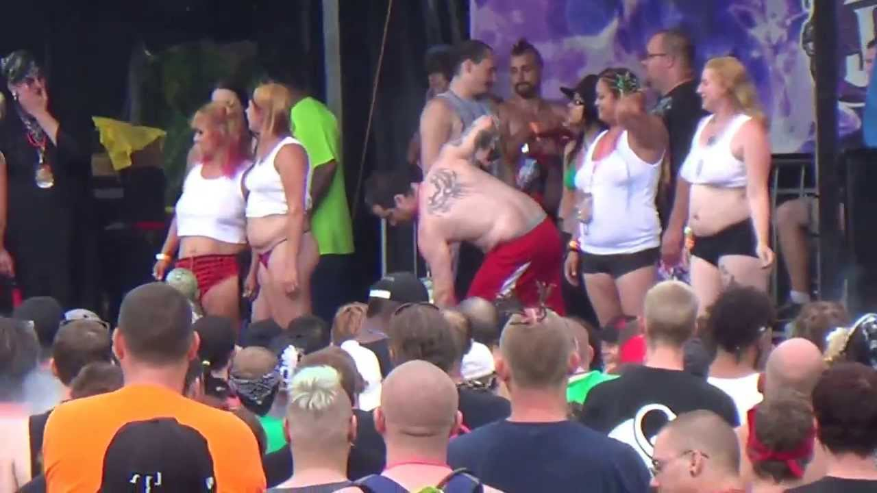 Mad Man Pondo At The Wet T Shirt Contest At Gathering Of The Juggalos