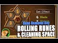 SUMMONERS WAR : Rune Removal Day - Clearing Storage and Rolling Runes