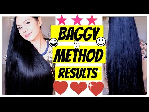 Result Of Baggy Method 3 Weeks Update-For Soft Tangle Free Hair- Solution to Dry Ends-Beautyklove