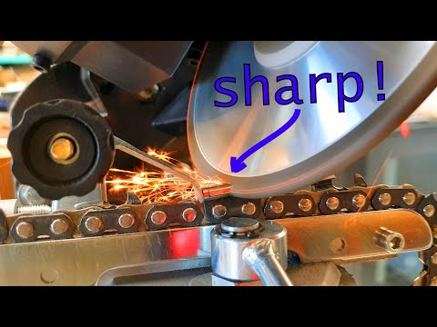 How to Sharpen a Chainsaw with Elegant Efficiency [smoother & straighter cuts]