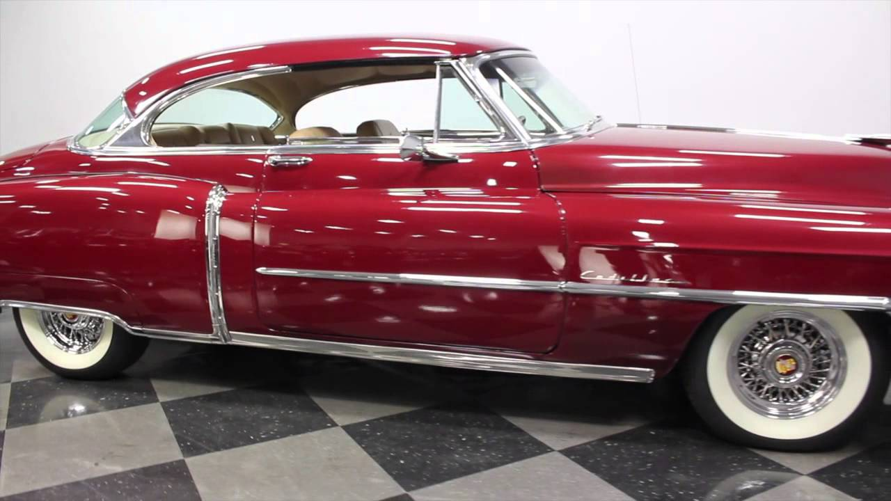 2696 Cha 1950 Cadillac Series 62 Coupe Resto Mod Youtube