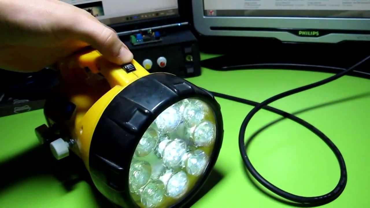 Как сделать самому светодиодный дальнобойный фонарик
