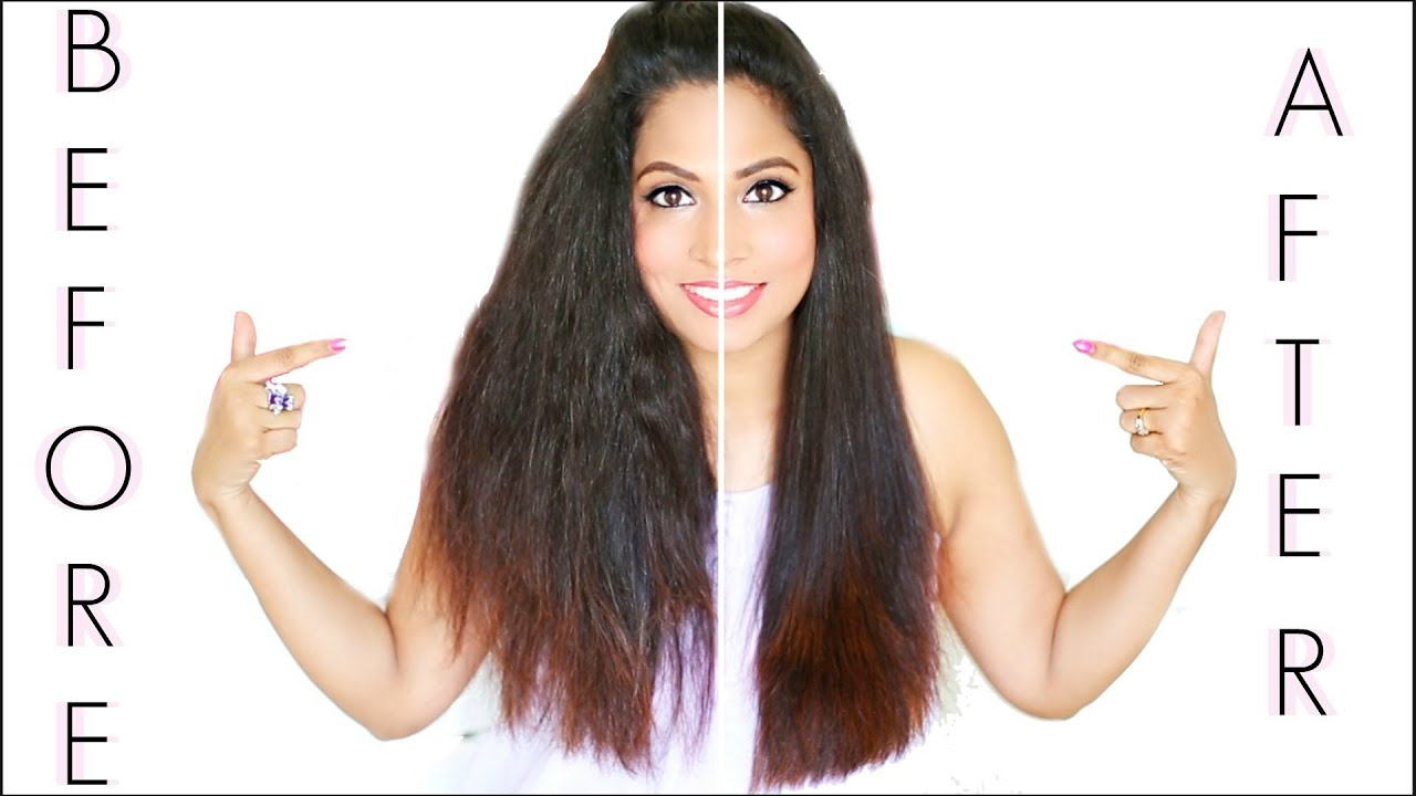 how i straighten my hair how to straighten my hair at home perfectly in 5 minutes 31070