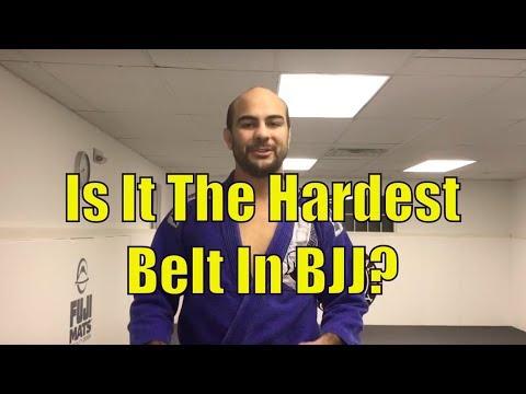 Purple Belt  - The Hardest Belt In BJJ