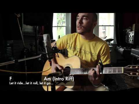 Ryan Adams- Let it Ride - Guitar Demonstration, Chords and Lyrics By Featured Artist Reed Kendall