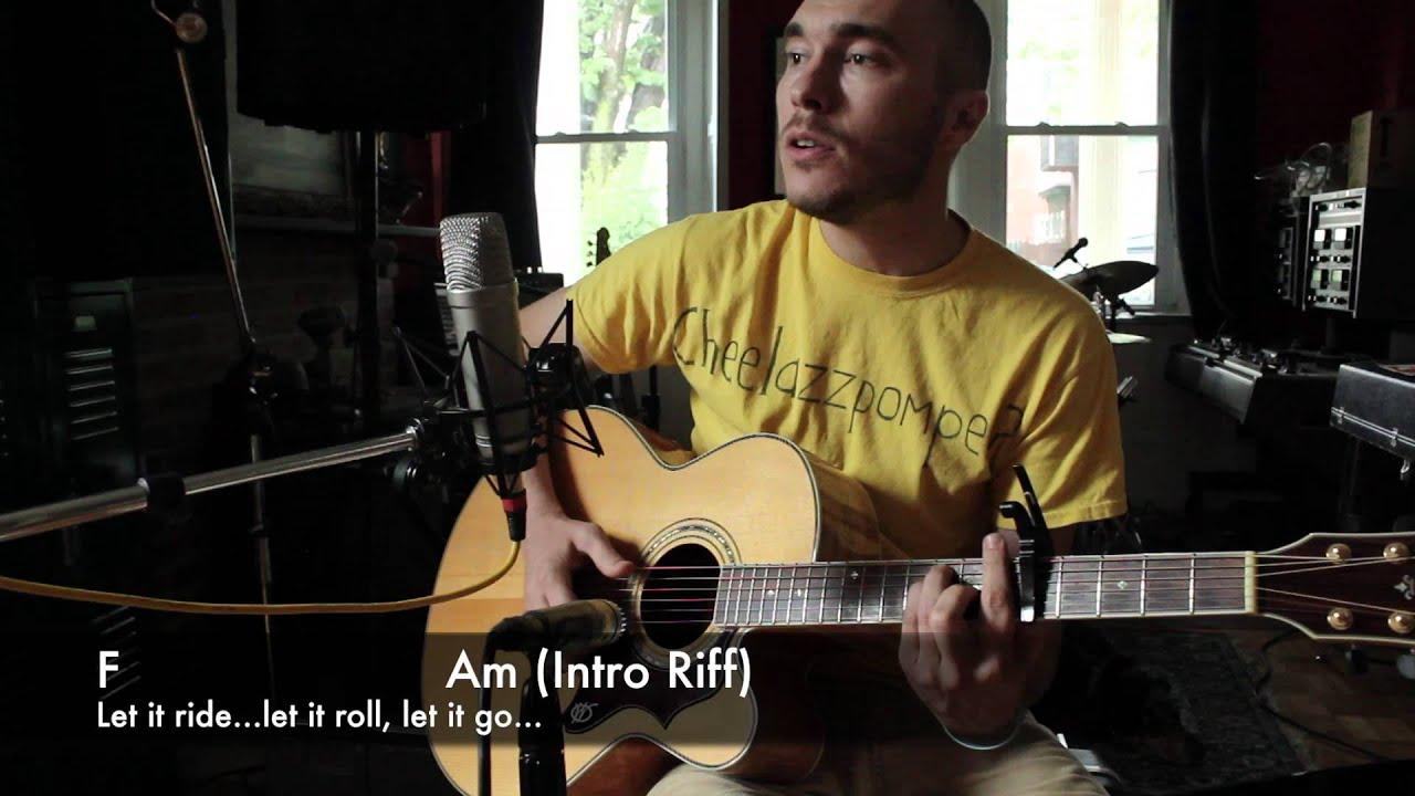 Ryan Adams Let It Ride Guitar Demonstration Chords And Lyrics By