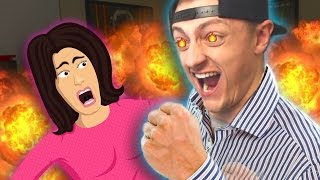 Angry Dad ABUSES Mom on Xbox Live! (Voice Trolling)