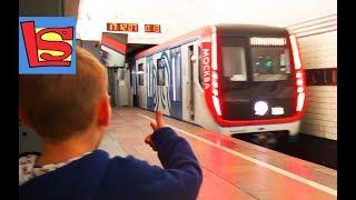 НОВЫЙ ПОЕЗД МЕТРО 2017 Что лучше? Советское vs Российское Кролик в метро НОВЕЙШИЕ ПОЕЗДА ВИДЕО