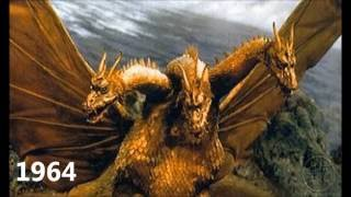 The Evolution of Ghidorah (1964-2016)