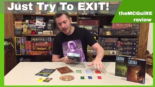 EXIT THE GAME Board Game Review