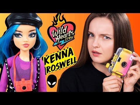 НУ ТАКОЕ... Обзор и распаковка Kenna Roswell Wild Hearts Crew