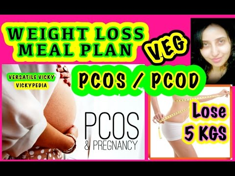 PCOS Diet Plan Hindi | PCOD Weight Loss Diet Plan | How to Lose Weight Fast 5KG with PCOD PCOS