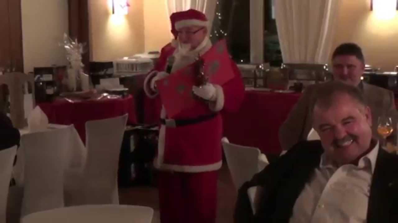 Weihnachtsfeier mit Woody Feldmann - YouTube