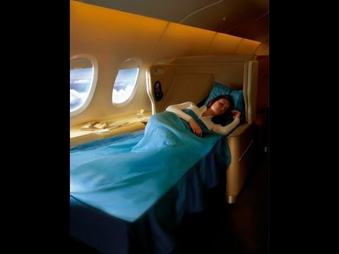 Singapore Airlines Business Class Seat A380, A340, B777