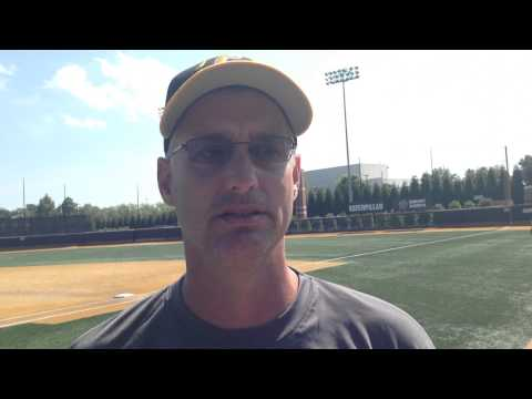 Head coach Andy Hallett