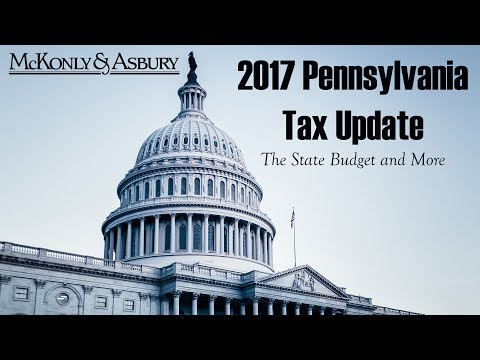2017 Pennsylvania Tax Update