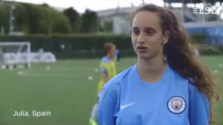 Jugendliche Sprachschule Manchester City Football (Mädchen)