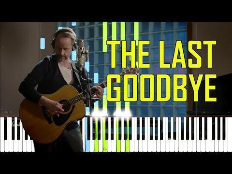 The Last Goodbye - Billy Boyd (The Hobbit) [Synthesia Piano Tutorial]