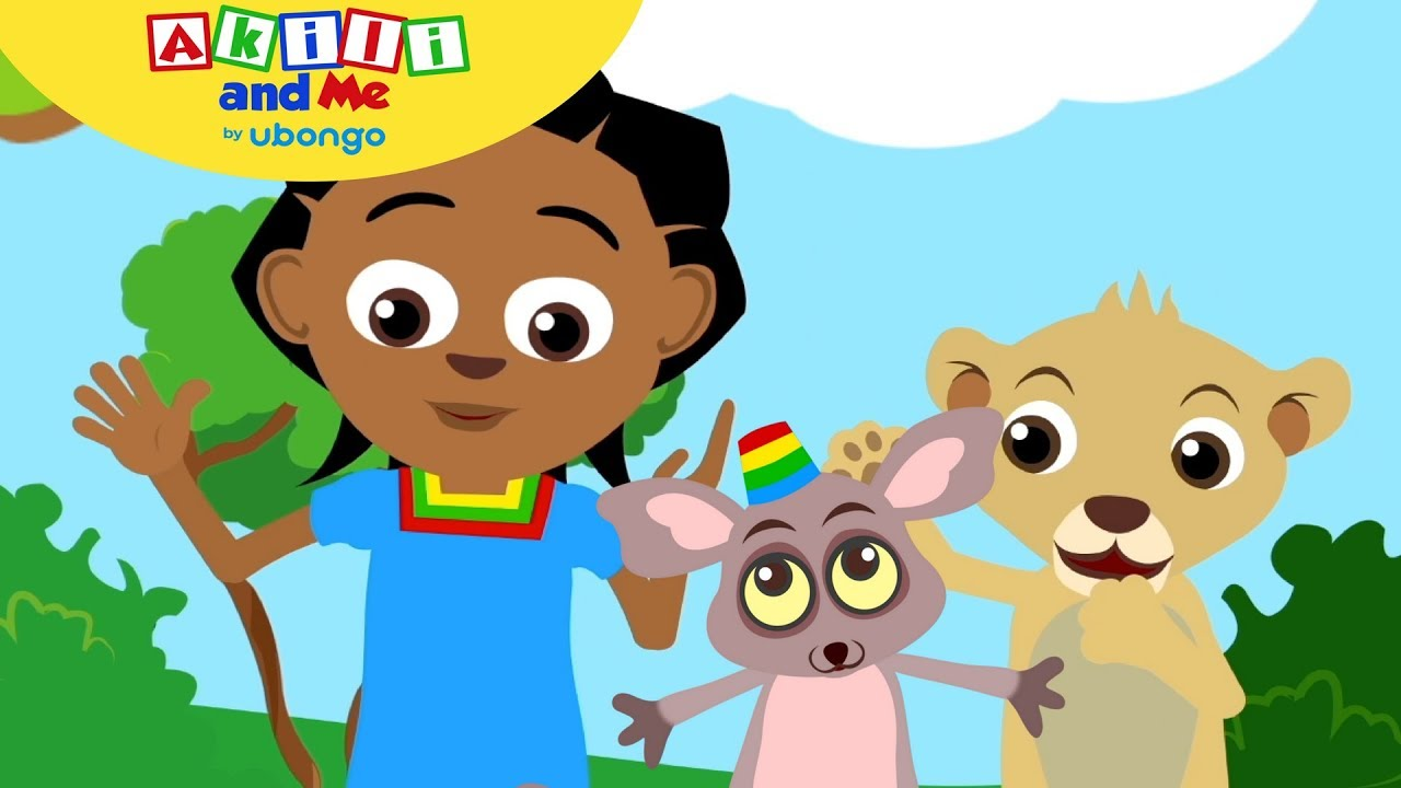 Dance, Dance, Dance!   Fun with Akili and Me   Cartoons for Preschoolers