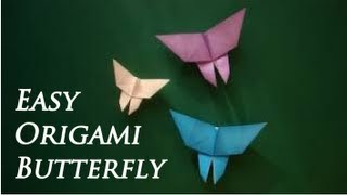 How To Make An Easy Origami Butterfly