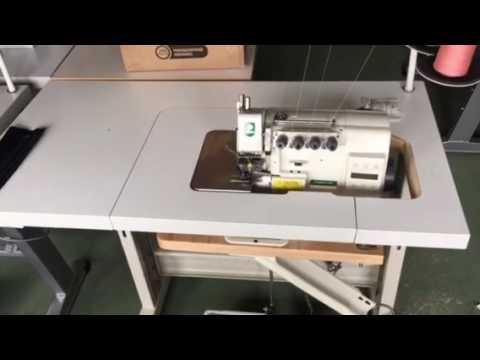 ZOJE ZJ893-4-13H 4-х ниточный промышленный оверлок с прямым приводом