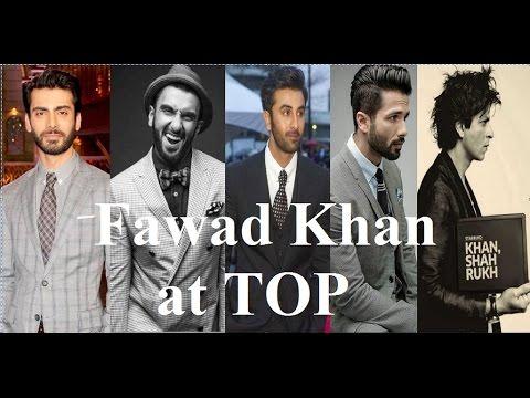 Top 10 Most Handsome Actors of Bollywood 2017  Fawad khan  Shah rukh khan  Hrithik roshan