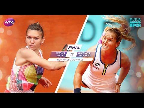 2016 Mutua Madrid Open Final Preview | Simona Halep Vs Dominika Cibulkova